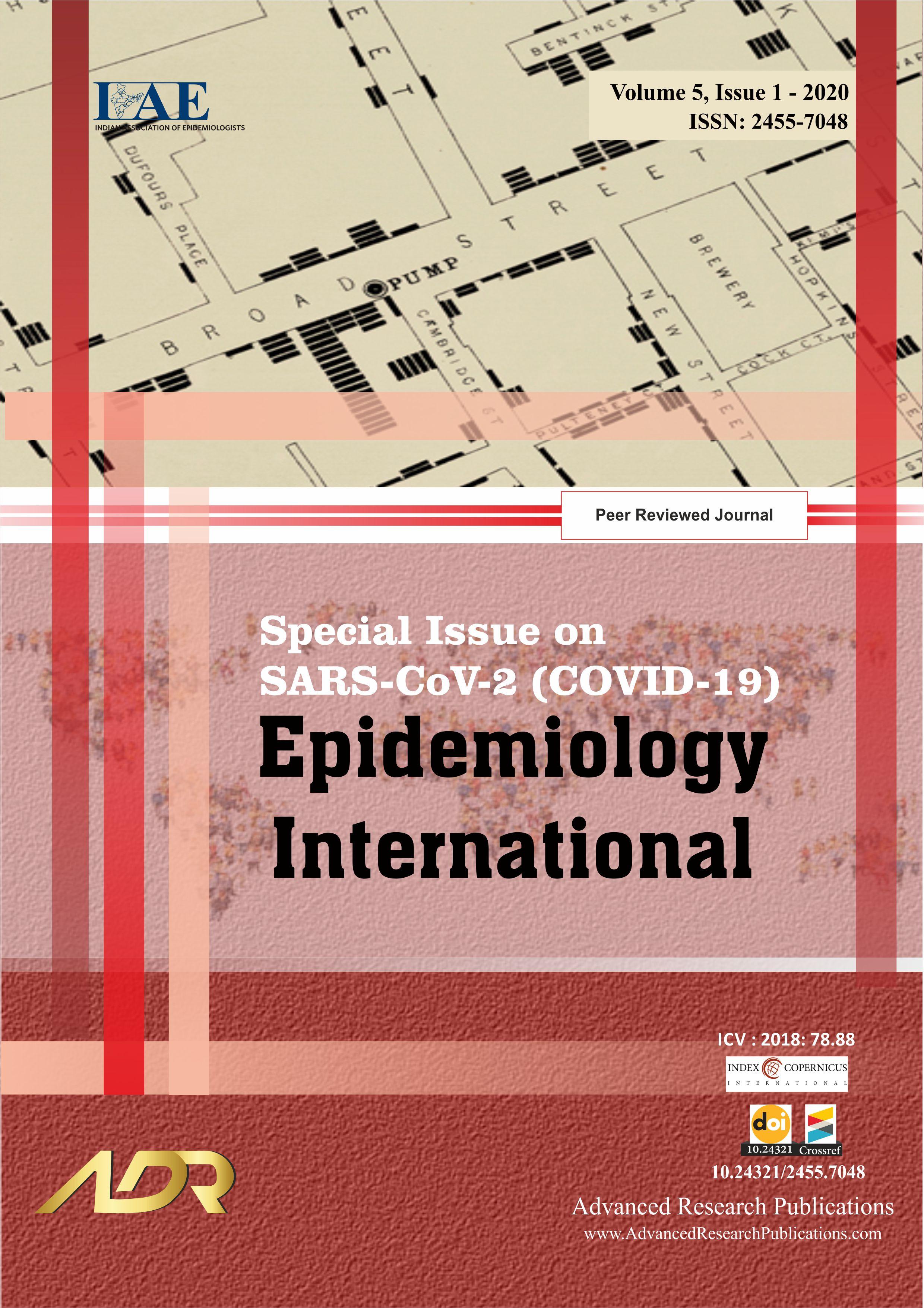 SARS-CoV-2 (COVID-19) - Epidemiology International